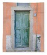 Italy - Door Five Fleece Blanket