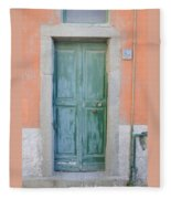 Italy - Door Five Fleece Blanket