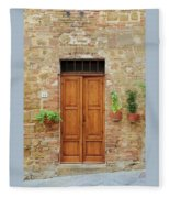 Italy - Door Six Fleece Blanket