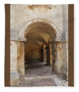 Italy - Door Sixteen Fleece Blanket