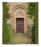 Italy - Door Twenty Five Fleece Blanket