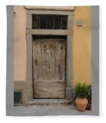 Italy - Door Twenty Three Fleece Blanket