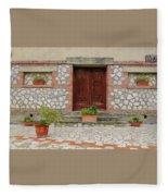 Italy - Door Twenty Two Fleece Blanket