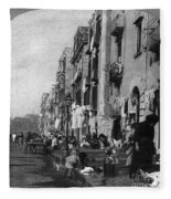 Italy: Naples, C1904 Fleece Blanket