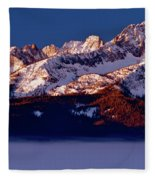 Its A New Day First Light Sawtooth Range Fleece Blanket