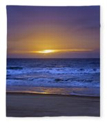 It's Going To Be A Lovely Day Fleece Blanket