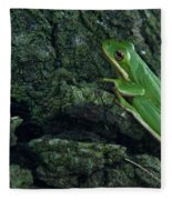 Its Hard To Be Green Fleece Blanket