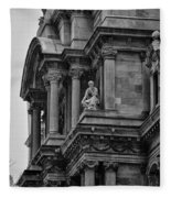 It's In The Details - Philadelphia City Hall Fleece Blanket
