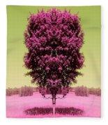 Its In The Tree Fleece Blanket