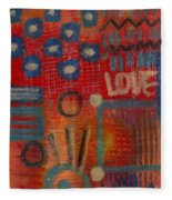It's Love Fleece Blanket