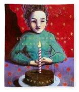 Its My Gd Birthday Fleece Blanket