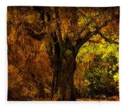 It's Not The Angel Oak Fleece Blanket