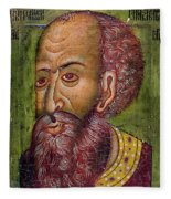 Ivan Iv Vasilevich Fleece Blanket