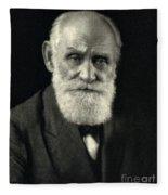 Ivan Pavlov, Russian Physiologist Fleece Blanket