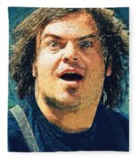 Jack Black - Tenacious D Fleece Blanket