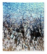 Jack Frost Forest Fleece Blanket
