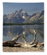 Jackson Lake 1 Fleece Blanket