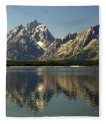 Jackson Lake 2 Fleece Blanket