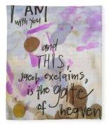 Jacob's Proclamation Fleece Blanket