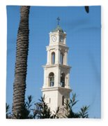 Jaffa, St Peter Church And Monastery Fleece Blanket