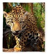 Jaguar Adolescent Fleece Blanket