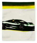 Jaguar C-x75 Fleece Blanket