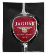 Jaguar Medallion Fleece Blanket
