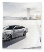 Jaguar Xj Ultimate 2013 Fleece Blanket