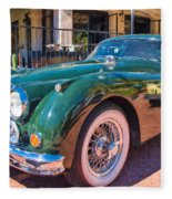 Jaguar Xk Classic Fleece Blanket