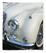Jaguar Xk150 Fleece Blanket