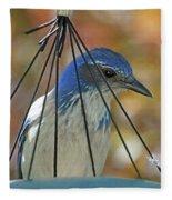 Jail Bird Fleece Blanket