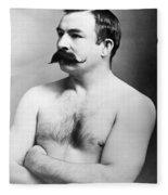 Jake Kilrain (1859-1937) Fleece Blanket
