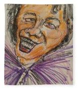 James Brown Fleece Blanket