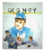 James Cagney Fleece Blanket
