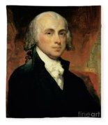 James Madison Fleece Blanket
