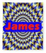 James Fleece Blanket
