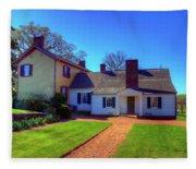 James Monroe's Highland Fleece Blanket