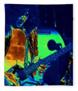 Jamie's Crying The Cosmic Blues In Spokane Fleece Blanket