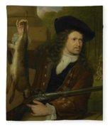Jan De Hooghe  Fleece Blanket