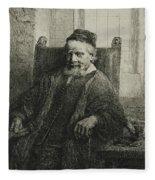 Jan Lutma, The Elder, Goldsmith And Sculptor Fleece Blanket