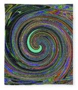 Janca Abstract Panel #5473w4 Fleece Blanket