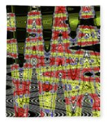 Jancart #0010-8 Abstract Fleece Blanket