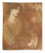 Jane Morris Fleece Blanket
