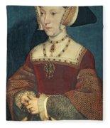Jane Seymour Fleece Blanket