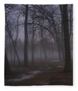 January Fog 2 Fleece Blanket
