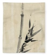 Japan: Bamboo, C1830-1850 Fleece Blanket