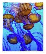 Japanese Sea Nettles Fleece Blanket