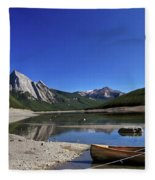 Jasper Alberta Fleece Blanket
