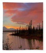 Jasper Glow Fleece Blanket