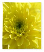 Yellow Luminosity  Fleece Blanket